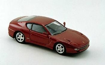 BANG 8016 O SCALE Ferrari 456 GT Stradale metallic red