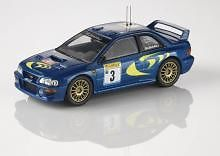 CORGI VANGUARD VA12300 O SCALE Subaru Impreza World Rally Championship Monte Car