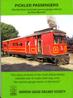 PICKLED PASSENGERS The Entinel-Cammell narrow-gauge railcars ISBN 9780955432668