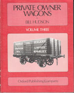 PRIVATE OWNER WAGONS Vol. 3 ISBN:9780860932060