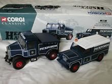 CORGI CLASSICS 16601 1:50 1:43 SCALE Pickfords Scammell Highwayman and Landrover