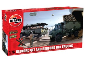 AIRFIX A03306 1:72 SCALE Bedford QLT and Bedford QLD Trucks