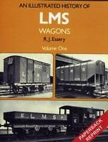 An Illustrated History of LMS Wagons Volume One ISBN 9781906419332