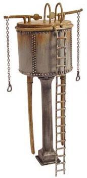 BACHMANN SCENECRAFT 44-037 00 SCALE Riveted Water Tank