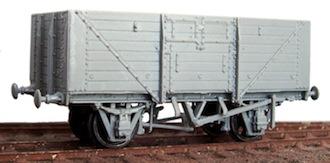 Cambrian C96 SR 10//12 Ton 8-Plank Open Wagon Kit. 00