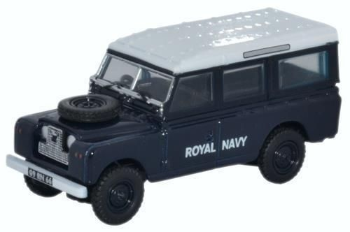 OXFORD DIECAST 76LAN2015 1:76 OO SCALE Land Rover Series II Station Wagon RN