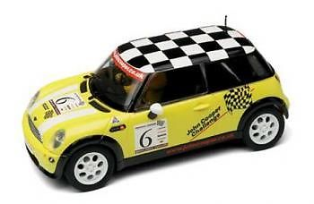 SCALEXTRIC C2485A BMW Mini Cooper No 6 Yellow