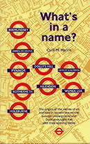 WHATS IN A NAME? ISBN 9781854142412